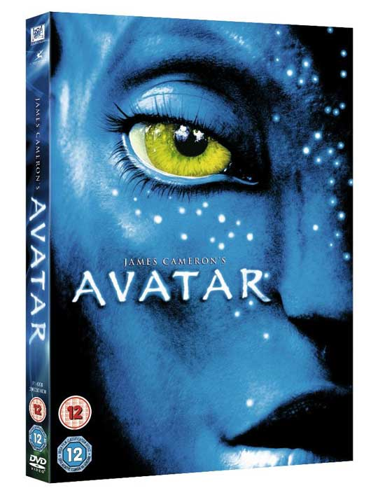 avatar dvd cover art. for the UK DVD cover.