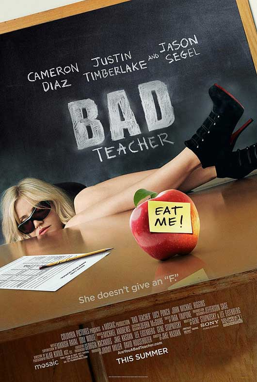 cameron diaz bad teacher poster. It#39;s an okay poster but a