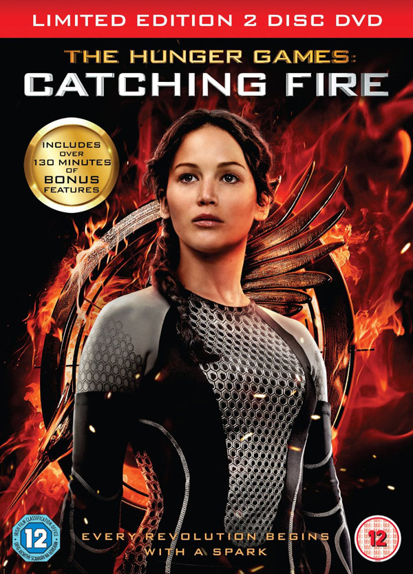 Catching Fire Dvd Cover The hunger games: catching