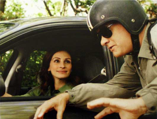 larry crowne trailer. Hanks plays affable, amiable Larry Crowne, who was a superstar team leader
