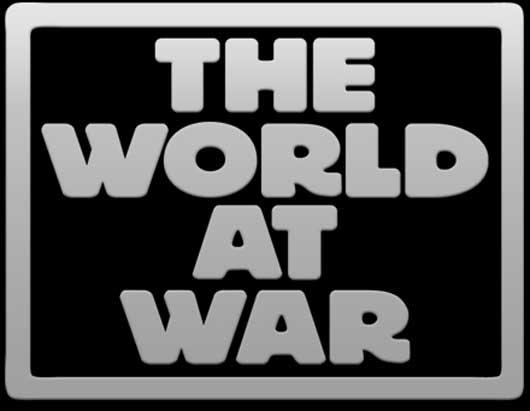 world war logo. The World At War,