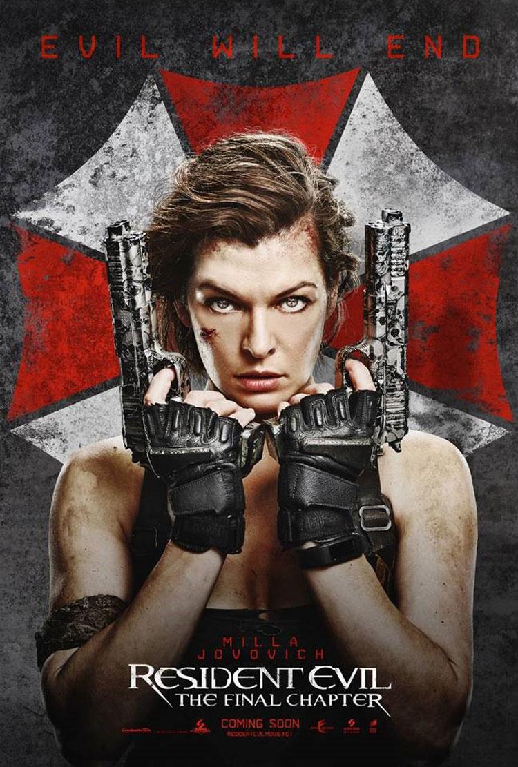 Resident Evil: The Final Chapter Teaser Trailer - Milla ...